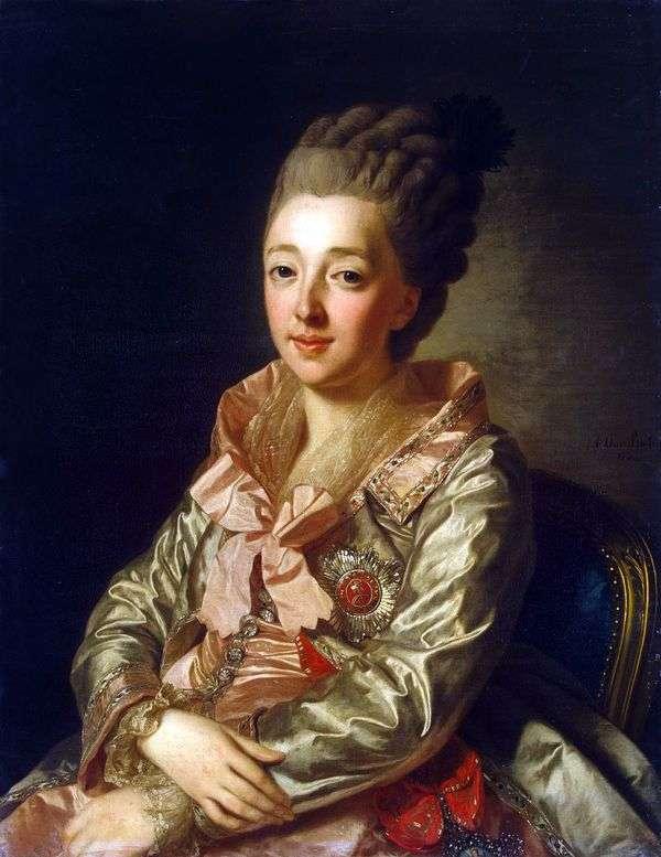 大公妃ナタリアAlekseevny   アレクサンダーロスリンの肖像
