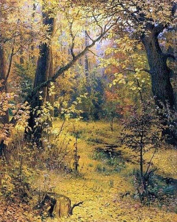 秋の朝   Grigory Myasoedov