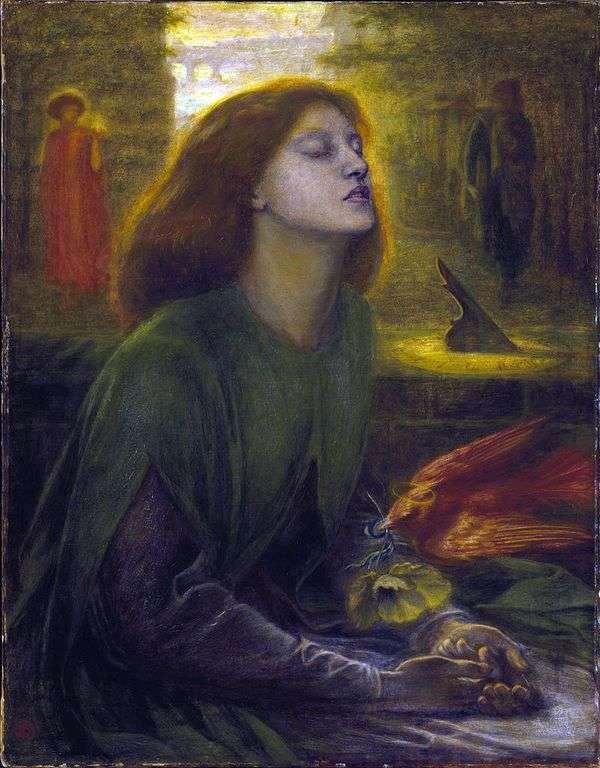 祝福されたベアトリス   Dante Rossetti