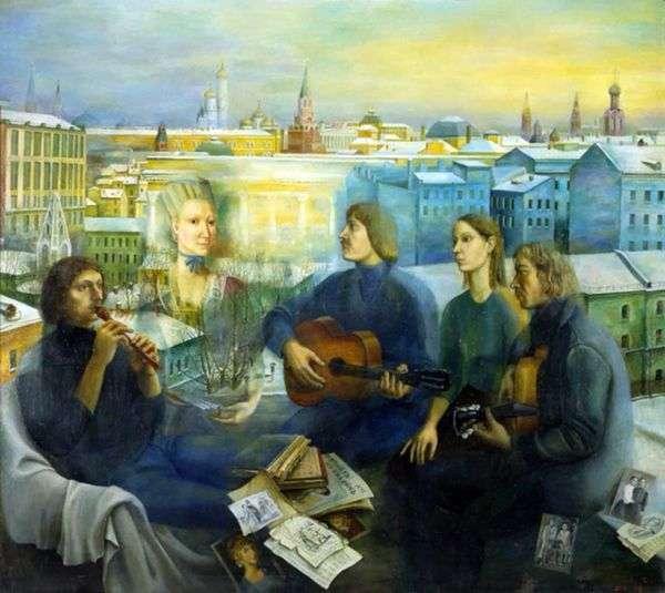 モスクワの夜   Tatyana Nazarenko