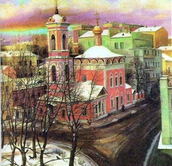 Nezhdanova通り   Tatyana Nazarenkoのアセンション教会