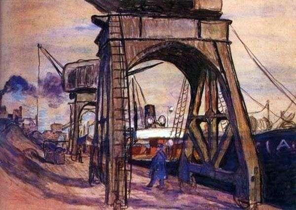 コルベールの桟橋   ラウル・デュフィ