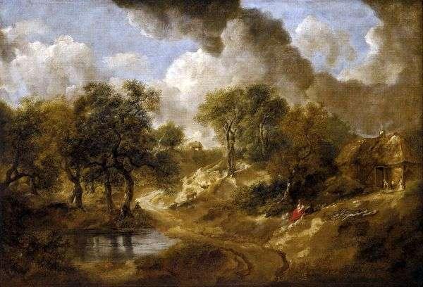 サフォークの風景   Thomas Gainsborough