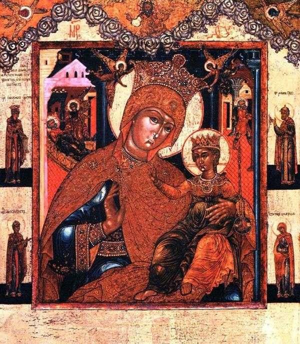 クリスマス前とクリスマス後の聖母マリア、聖人たち