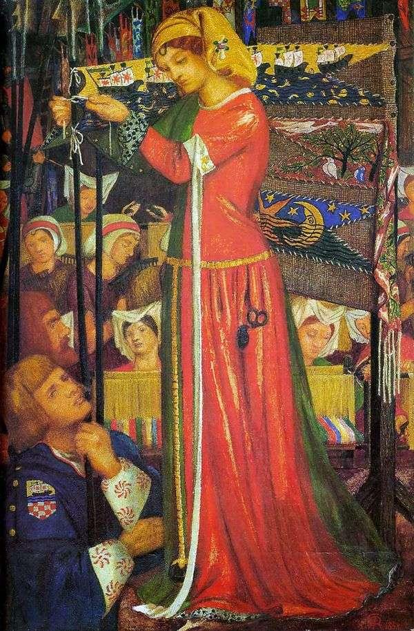 戦いの前に   Dante Gabriel Rossetti