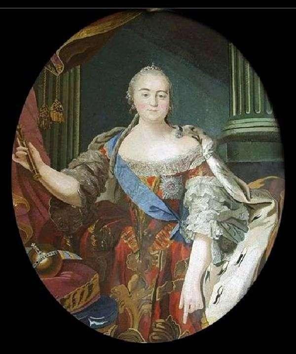エリザベタペトロヴナの肖像