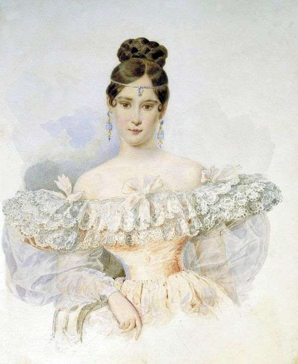 Natalya Pushkina、ウル。ゴンチャロヴァ   カールブリュロフ