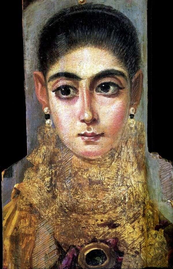 若い女性の肖像   Fayumの肖像