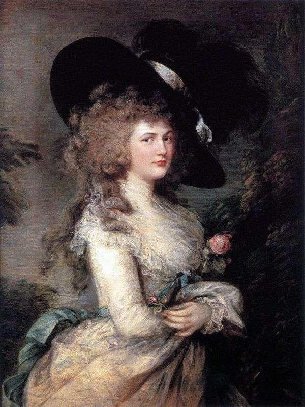 ジョージアン、デヴォンシャー公爵   トマス・ゲインズバラの肖像