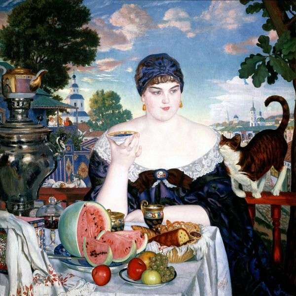 Tradeswoman for tea   ボリスクストディエフ
