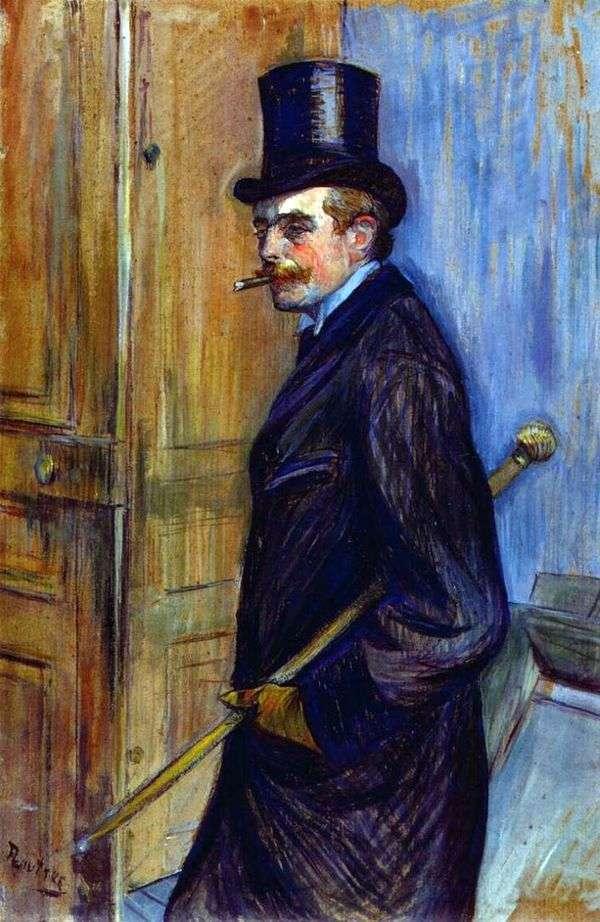 Louis Pascal   Henri de Toulouse Lautrecの肖像