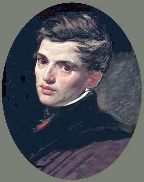 A. Bryullovの肖像   カールBryullov