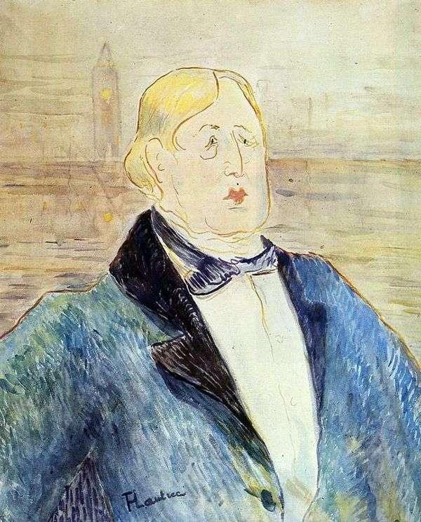 オスカーワイルド   アンリドトゥールーズロートレックの肖像