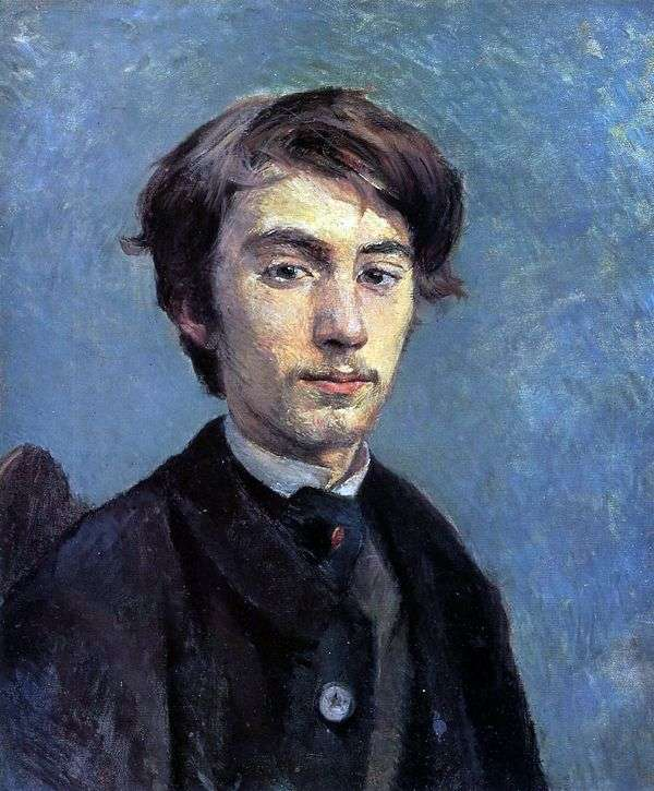 Emile Bernard   アンリ・ド・トゥールーズ=ロートレックの肖像