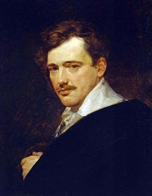 A. N. Lvov   Karl Bryullovの肖像画
