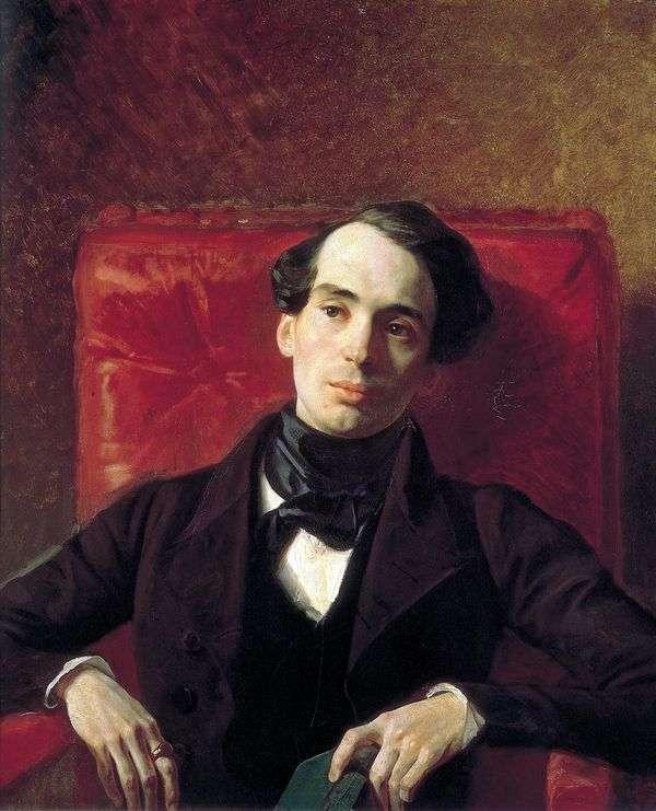 A. N. Strugovshchikov   Karl Bryullovの肖像画