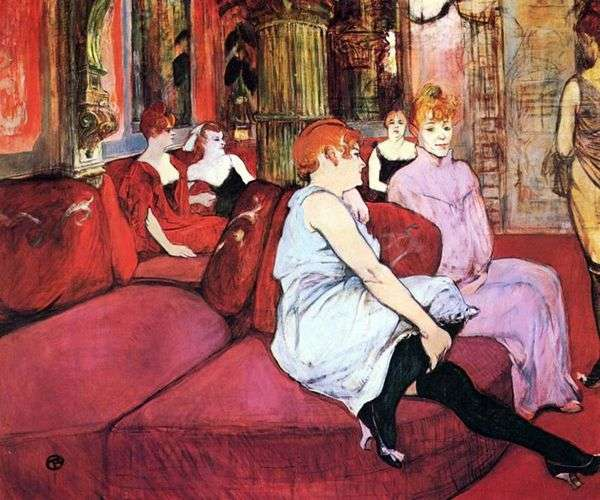 Salon Moulin Rue   アンリドトゥールーズロートレック