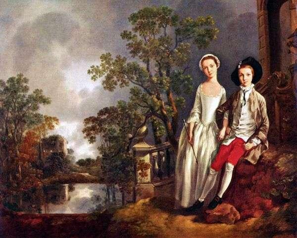 シスター・ルチア   トーマス・ゲインズバラとエニアジャロイドの肖像画