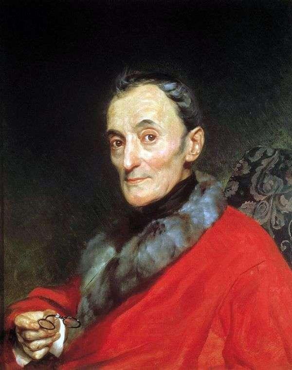 考古学者ミケランジェロランチの肖像   Karl Bryullov
