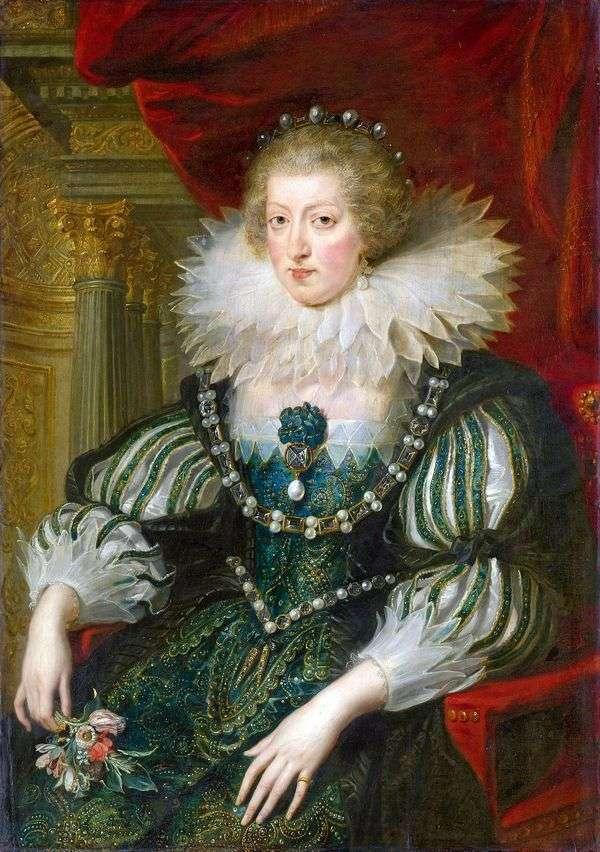 オーストリアのアンナの肖像   ピータールーベンス