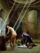 トルコの女の子とムーア風呂   Jean Leon Jerome