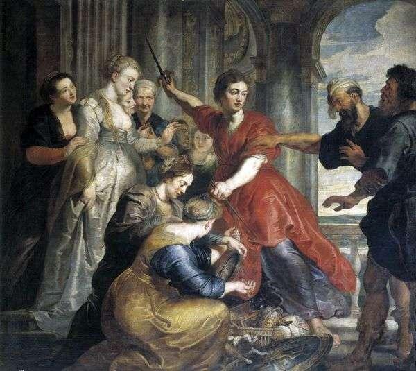 アキレス、オデッセウスとディオメデス   Peter Rubens