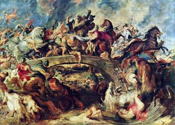 アマゾンとのギリシア人の戦い   Peter Rubens