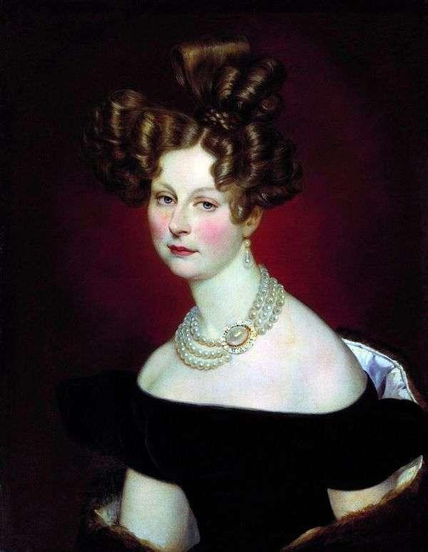 ヴェルの肖像 王子 Elena Pavlovna   カールブリュロフ