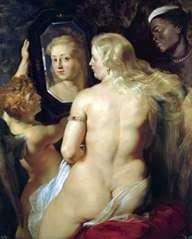 鏡に映った金星   Peter Rubens