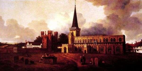 聖マリア教会   Thomas Gainsborough