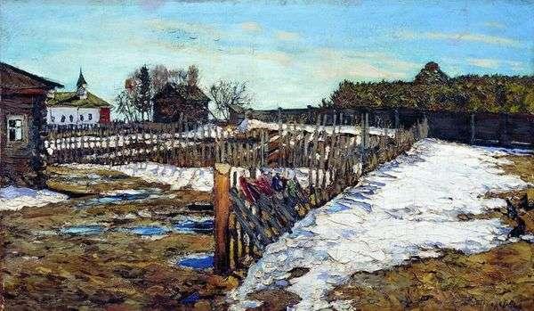 西部地域の春   レナードトゥルザンスキー