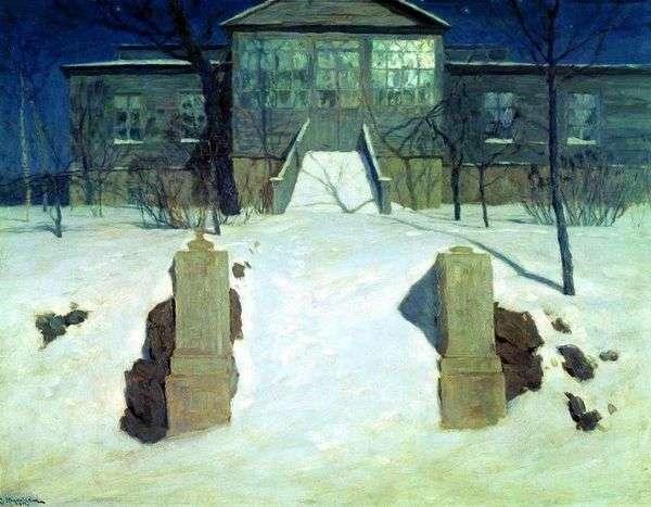 月夜   スタニスラフ・ズコフスキー