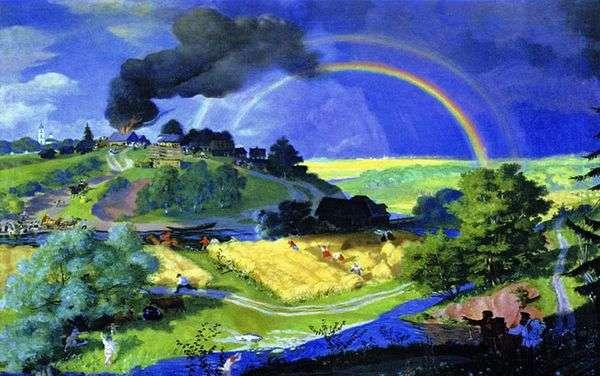 嵐の後   Boris Kustodiev