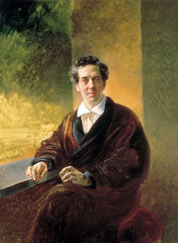 B・A・ペロフスキー伯の肖像   Karl Bryullov