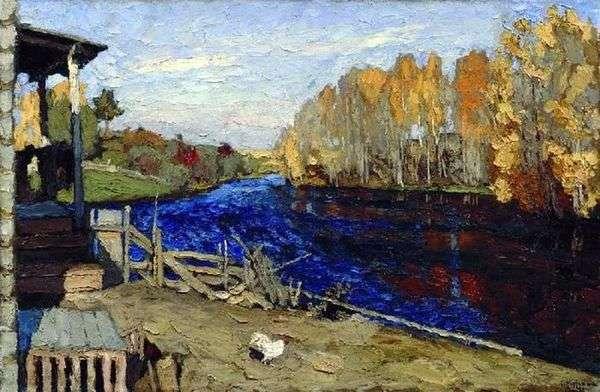 秋(池)   スタニスラフ・ズコフスキー