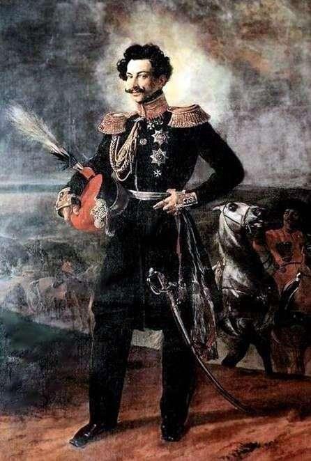 カウントA. A. Perovsky   Karl Bryullovの肖像