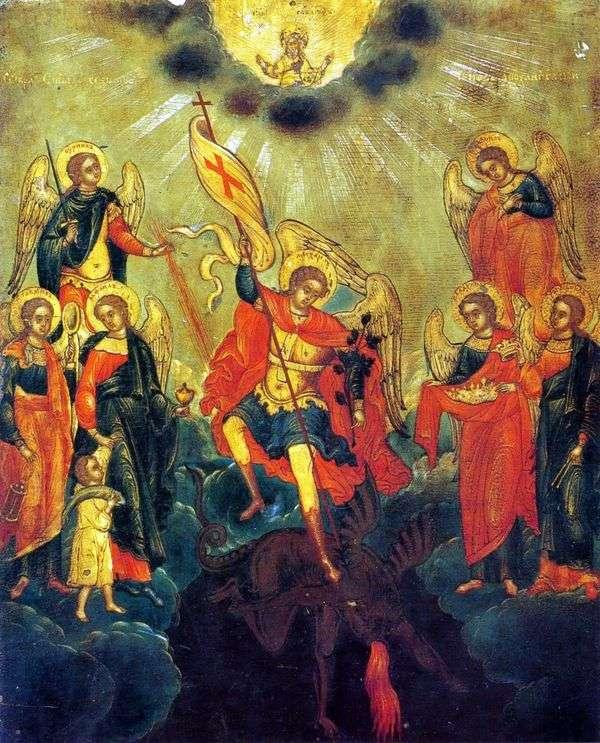 大天使の聖七階級のイメージ