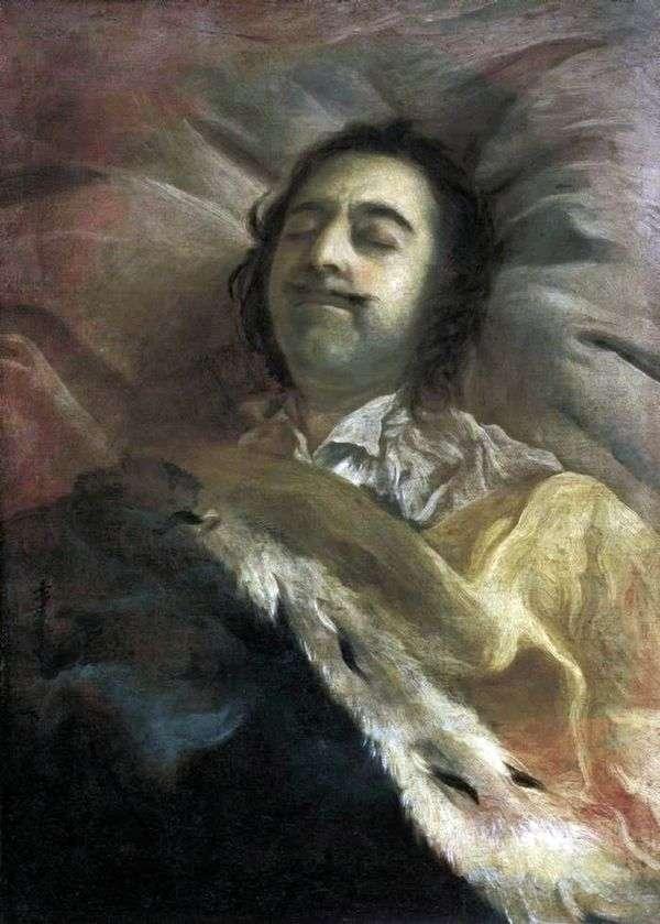 ピーターI死のベッド   Ivan Nikitin