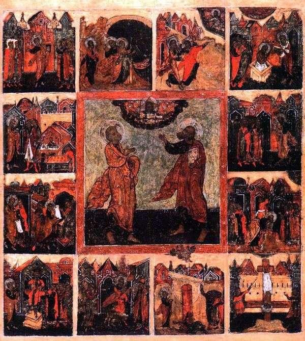 最初の使徒ペテロとパウロ、12の封印で演じる