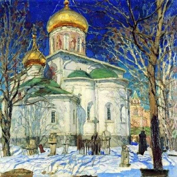 聖母の生誕教会。ズヴェニゴロド   スタニスラフ・ズコフスキー
