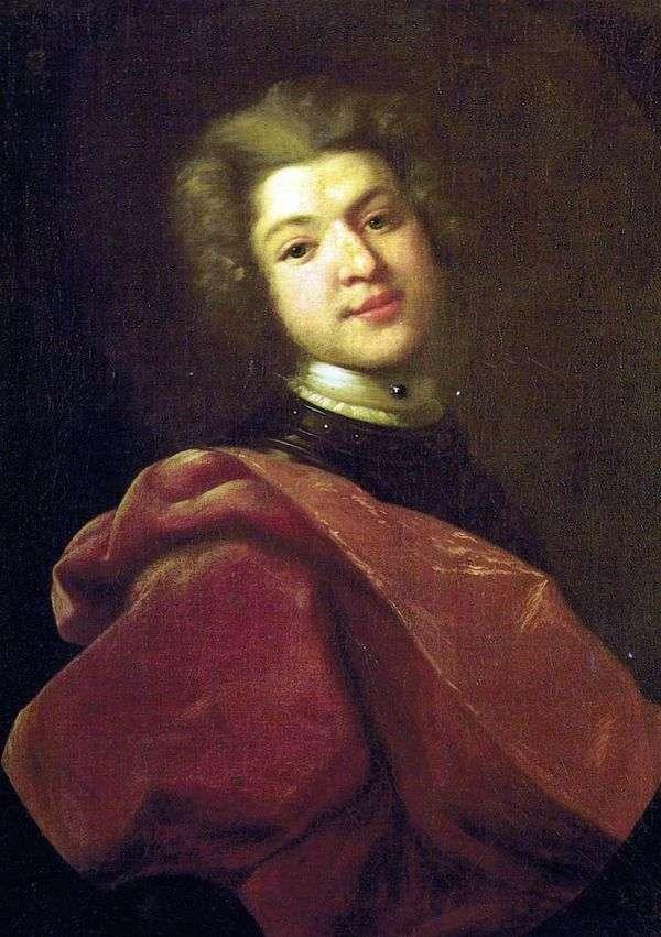 男爵Sergei Grigorievich Stroganov   Ivan Nikitinの肖像画