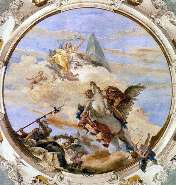 Pegasus   Giovanni Battista TiepoloのBellerophon