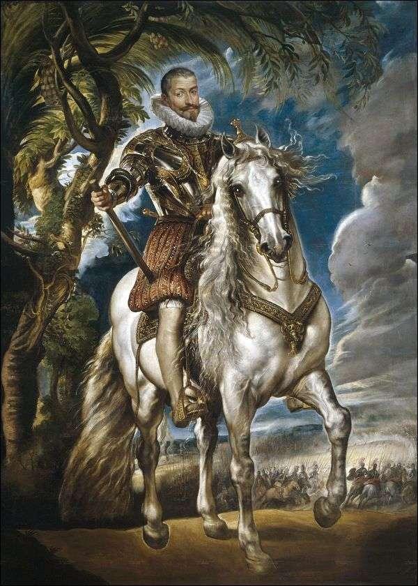 レルマ公爵の肖像   Peter Rubens