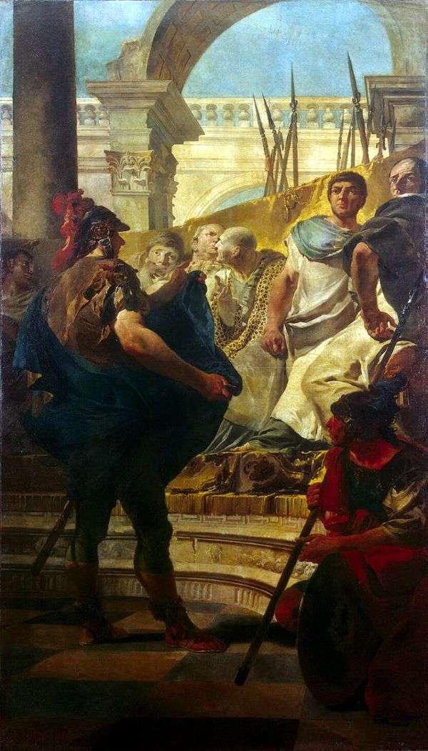 カルタゴ上院議員のQuintus Fabius Maxim   Giovanni Battista Tiepolo