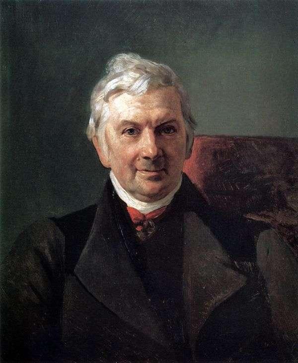 K. A. Janisch   Karl Bryullovの肖像