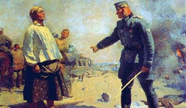 パルチザンの母   Sergey Gerasimov