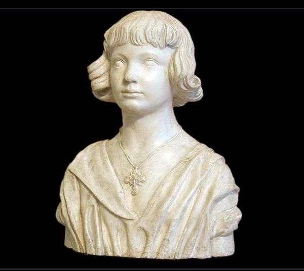 少年の胸像   アレクサンドル・イワノフ