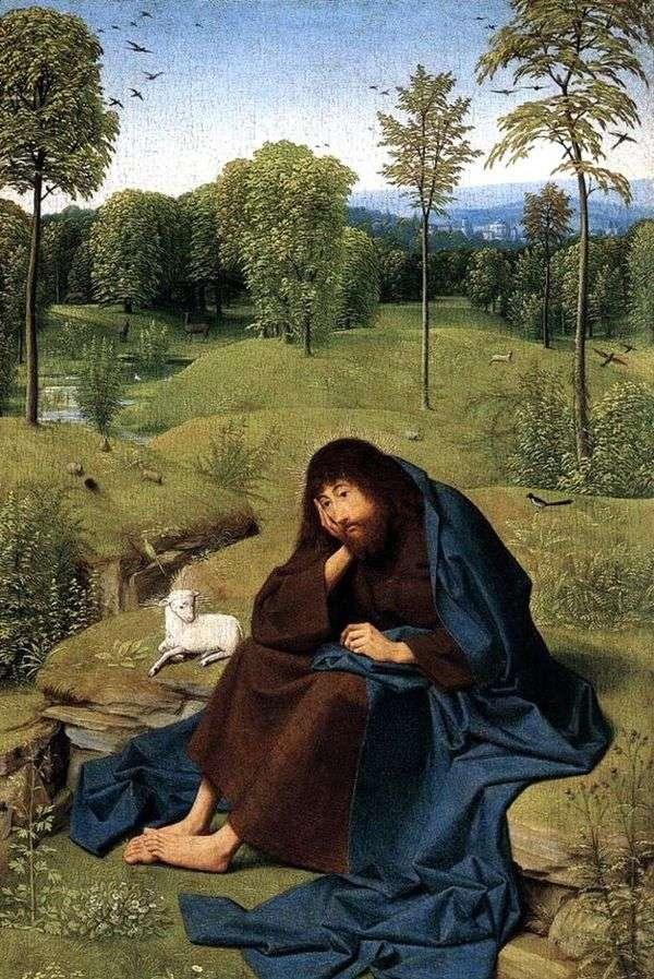 荒野の洗礼者聖ヨハネ   ヤン・シントはそのハルトゲン