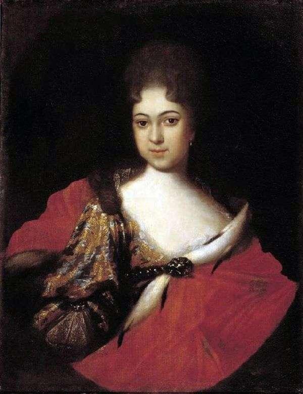 Praskovya Ioannovna   Ivan Nikitinの肖像