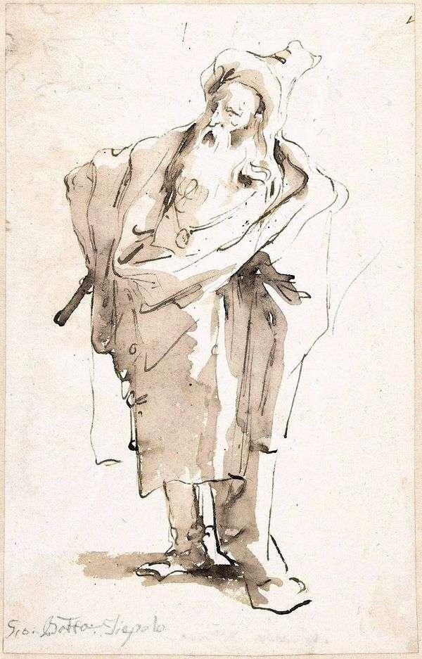 油のスケッチ   Giovanni Battista Tiepolo